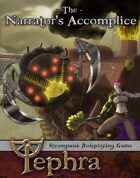 Tephra: The Narrator's Accomplice