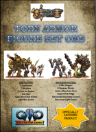 TORN WORLD's Torn Armor Set One