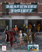 DEADLY MISSIONS: Deathwish Society