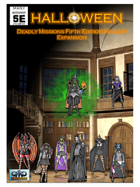 Deadly Missions 5th Edition: HALLOWEEN EXPANSION