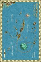Dragon Isles Poster Map (Pirates & Dragons)