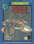 Spacemaster Tech Law - Vehicle Manual