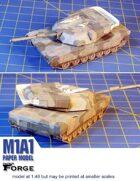 M1A1 paper model