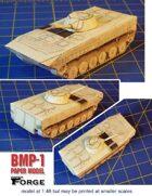 BMP-1 Paper Model