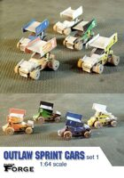 Outlaw Sprint Cars: Set 1 (3D models)