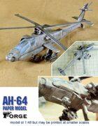 AH-64 Apache paper model