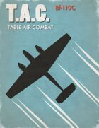Table Air Combat:  Bf-110C