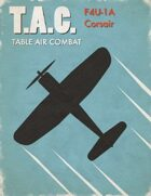 Table Air Combat: F4U-1A Corsair