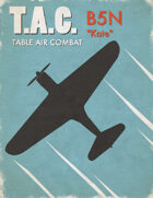 Table Air Combat: B5N Kate