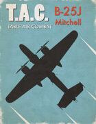 Table Air Combat: B-25J