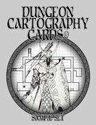 Dungeon Cartography Cards Sample Set