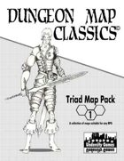 Dungeon Map Classics Triad Map Pack 1