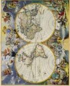 Antique Maps I - The World of the 1600's