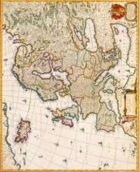 Antique Maps II - Europe of the 1600's