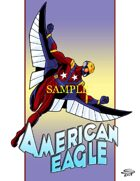 Joe Singleton's Art of The Superverse: American Eagle