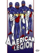 Joe Singleton's Art of The Superverse: American Legion