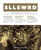 SLLSWRD Zine #1 - Play Aid for Zweihander RPG