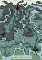 The Morose Highlands - Map for Zweihander RPG