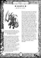 Krampus Spanish (ES) - Supplement for Zweihander RPG