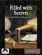 Filled With Secrets: Nine Monstrous Magical Items - Supplement for Zweihander RPG