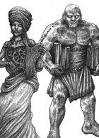 Golem - Ancestry for Zweihander RPG