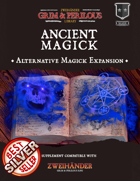 Ancient Magick - Supplement for Zweihander RPG