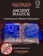 Ancient Magick - Supplement for Zweihander RPG