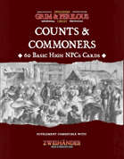 Counts & Commoners - Supplement for Zweihander RPG