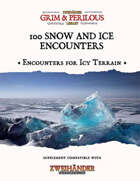 100 Snow and Ice Encounters - Supplement for Zweihander RPG