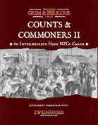 Counts & Commoners II - Supplement for Zweihander RPG