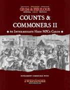 Counts & Commoners II - Supplement for Zweihander RPG