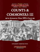 Counts & Commoners III - Supplement for Zweihander RPG