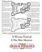 A Winter Festival - Adventure for Zweihander RPG