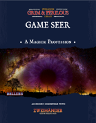 Game Seer - Magickal Profession for Zweihander RPG