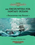 100 Encounters for Fantasy Oceans - Supplement for Zweihander RPG