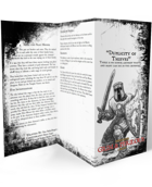 Duplicity of Thieves - Adventure for Zweihander RPG
