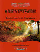 100 Random Encounters for on the Road or in the Wilderness - Supplement for Zweihander