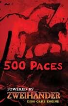 500 Paces - Adventure for Zweihander RPG