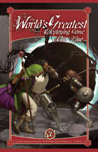 The World's Greatest Roleplaying Game: The Zine - A Complete Collection of 4 Issues