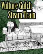 Vulture Gulch Express Steam Train construction set (B&W)