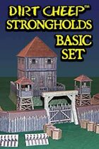 DIRT CHEEP STRONGHOLDS Earthworks Basic Set
