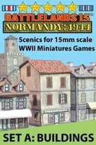 BattleLands 15mm Normandy: 1944 Set A-Buildings
