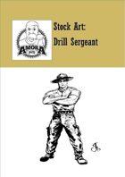 Stock Art: Drill Sergeant