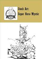 Stock Art: Super Hero Mystic