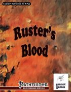 Ruster\'s Blood