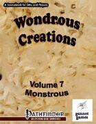 Wondrous Creations 7: Monstrous