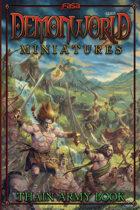 Demonworld Miniatures Thain Army Book