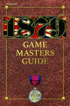 1879 RPG Game Master's Guide