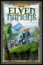 Earthdawn Fourth Edition Elven Nations (ED4)