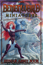 Demonworld Miniatures Isthak Army Book